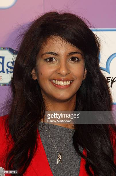 Konnie Huq attends the launch of Disney Channel's 'Wizards of Waverly Place' fashion range on April 7 2010 in London England