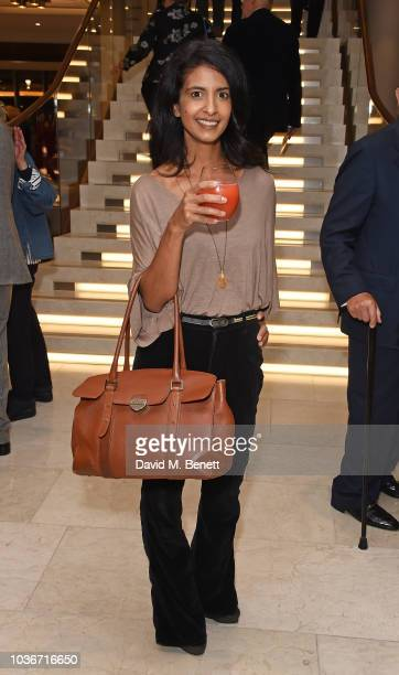 Konnie Huq attends the re-opening of the Royal Opera House on September 20, 2018 in London, England.