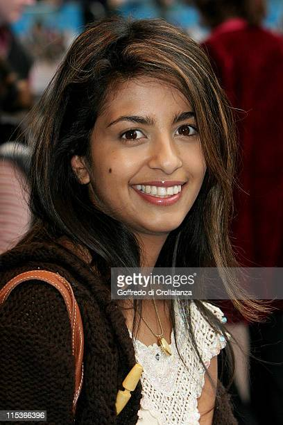 Konnie Huq during Valiant London Premiere at Odeon West End in London Great Britain