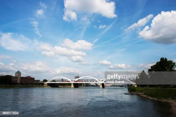 Konrad Adenauer Bridge Mannheim (Konrad Adenauer Bruecke)