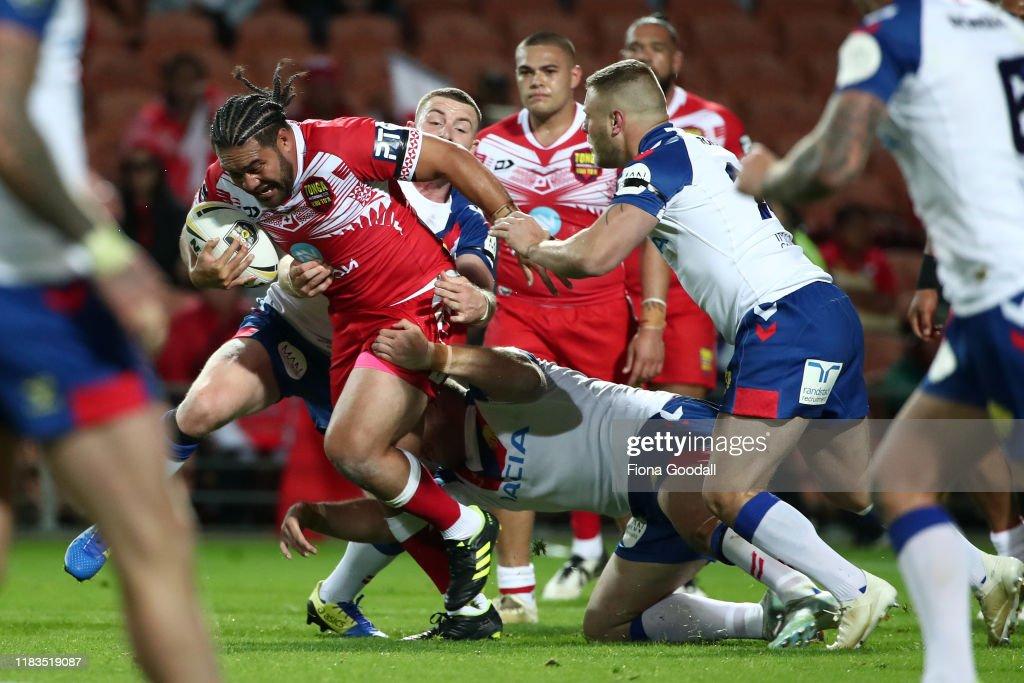 Great Britain Lions v Mate Ma'a Tonga : News Photo