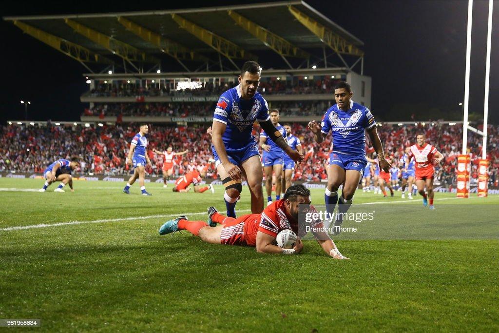 Tonga v Samoa - 2018 Pacific Test Invitational : News Photo