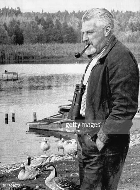 Konrad Lorenz's interests in zoology and psychology lead him to many explorations of animal behavior and the creation of modern ethology. He shared a...