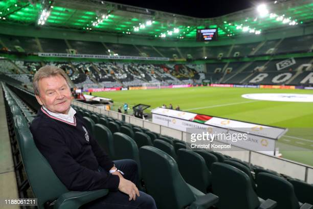 Konrad Weise attends the Club Of Former National Players Meeting at Borussia Park Stadium on November 16 2019 in Moenchengladbach Germany