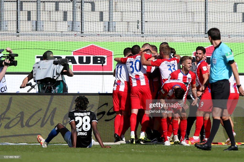 1. FC Heidenheim 1846 v Hamburger SV - Second Bundesliga : ニュース写真