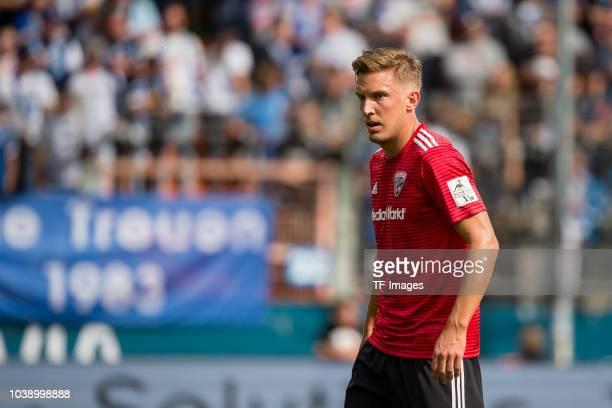 Konstantin Kerschbaumer of FC Ingolstadt looks on during the Second Bundesliga match between VfL Bochum 1848 and FC Ingolstadt 04 on September 16...