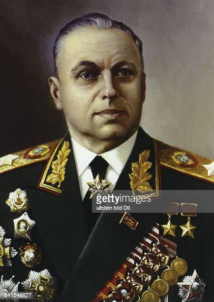 Konstantin Konstantinovich Rokossovskiy *21121896 military leader Marshal of the Soviet Union 19491956 Polish Minister of Defence 19561962 deputy of...