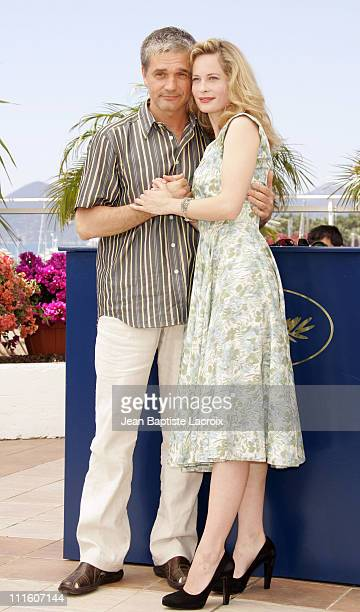 "Konstantin Lavronenko and Maria Bonnevie during 2007 Cannes Film Festival - ""Izgnanie"" Photocall at Palais des Festivals in Cannes, France."