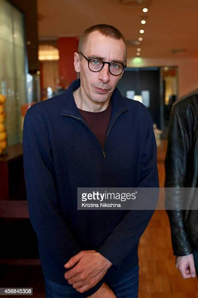 Konstantin Murzenko attends the Concerned Russian premiere of Boris Khlebnikov's TNT Series during the Saint Petersburg International Media Forum at...