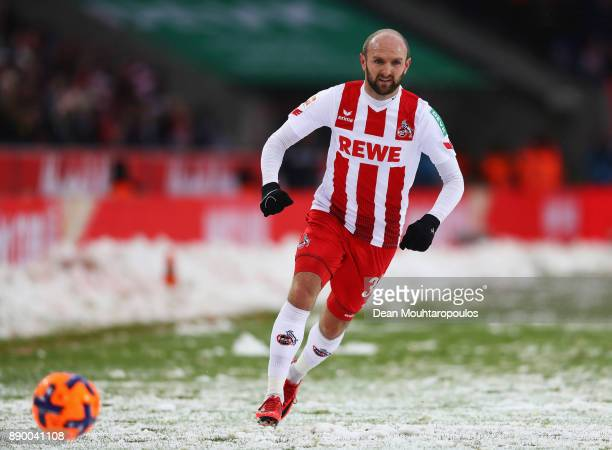 Konstantin Rausch of FC Koeln in action during the Bundesliga match between 1 FC Koeln and SportClub Freiburg at RheinEnergieStadion on December 10...