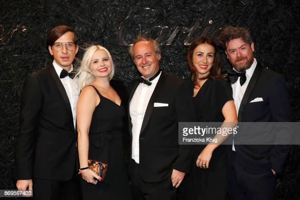 Konstantin Spachis Theresa Pichler Managing Director Cartier Northern Europe Renaud Lestringant Friederike Weissbach and Nino Cerone attend the When...