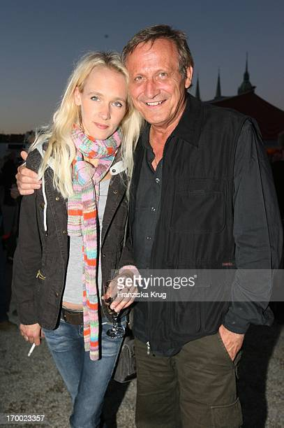 Konstantin Wecker And wife Annik At The Gala Premiere Of '30 years Roncalli' In Munich