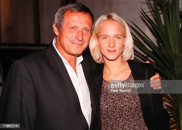 Konstantin Wecker mit Ehefrau Annik Party'40 Jahre Ariola' München
