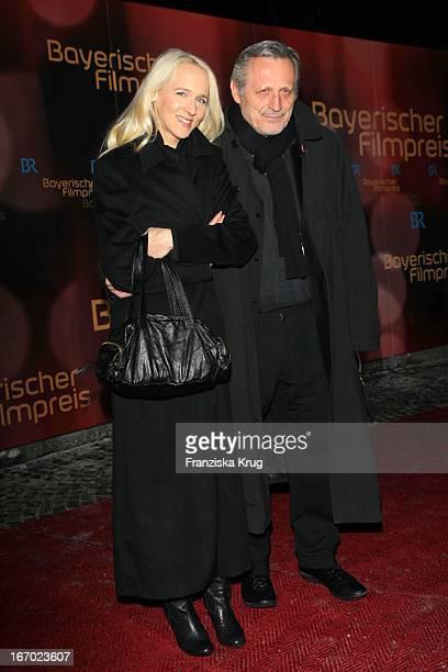 Konstantin Wecker Und Freundin Annik Bei Der 31 Verleihung Des 'Bayerischen Filmpreises' Im Prinzregententheater In München