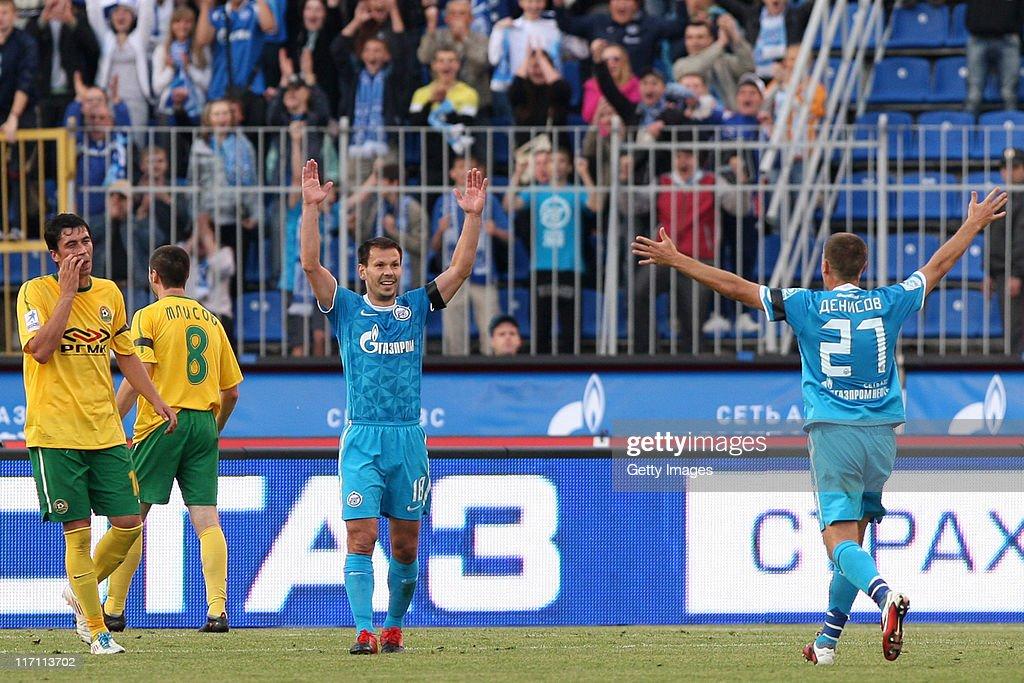 Zenit St Petersburg v Kuban Krasnodar - Premier League