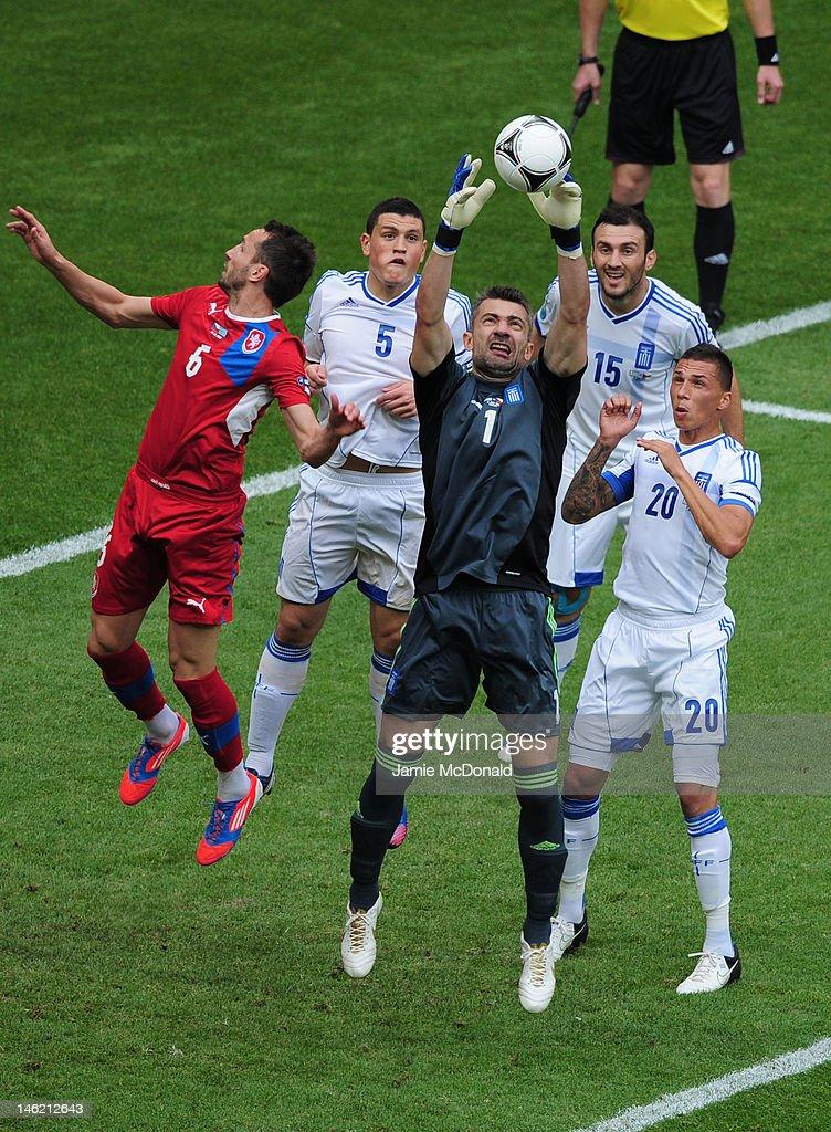 Greece v Czech Republic - Group A: UEFA EURO 2012 : News Photo