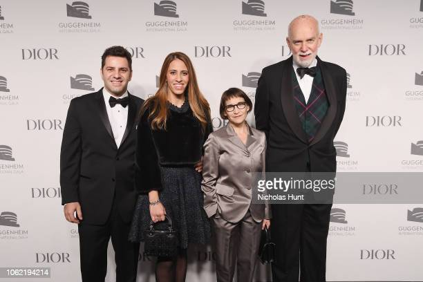 Konstantinos Despotis Alexandria Daskalopoulos Nancy Spector and Richard Armstrong attend the Guggenheim International Gala Dinner made possible by...