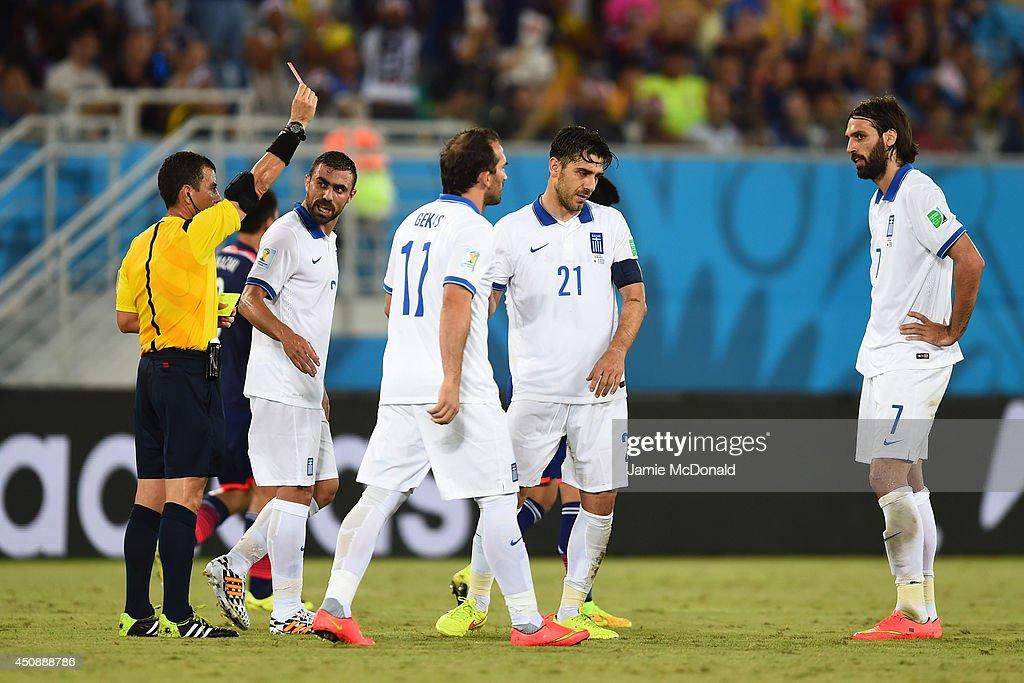 Japan v Greece: Group C - 2014 FIFA World Cup Brazil : Foto di attualità