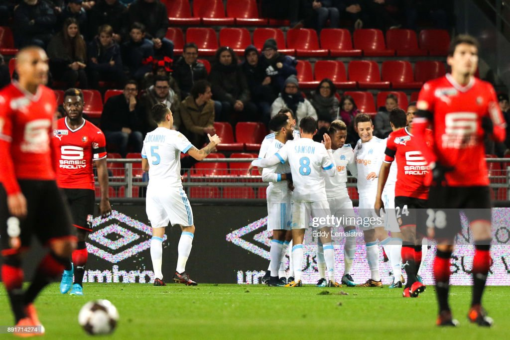 Stade Rennais v Olympique Marseille - French League Cup