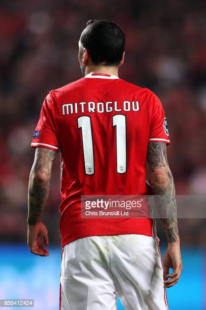 Konstantinos Mitroglou of SL Benfica looks on during the UEFA Champions League Round of 16 first leg match between SL Benfica and Borussia Dortmund...