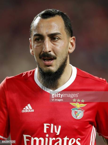 Konstantinos Mitroglou of SL Benficaduring the UEFA Champions League round of 16 match between SL Benfica and Borussia Dortmund on February 14 2017...