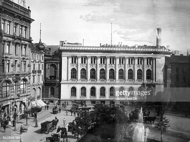 Kontor für Wertpapiere der ReichshauptbankNebeneingang am Hausvogteiplatz- vor 1914