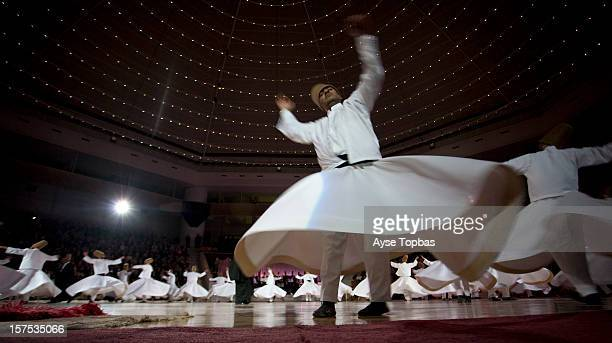 Konya, Sufi whirling is a form of Sama or physically active meditation which originated among Sufis, and which is still practiced by the Sufi...