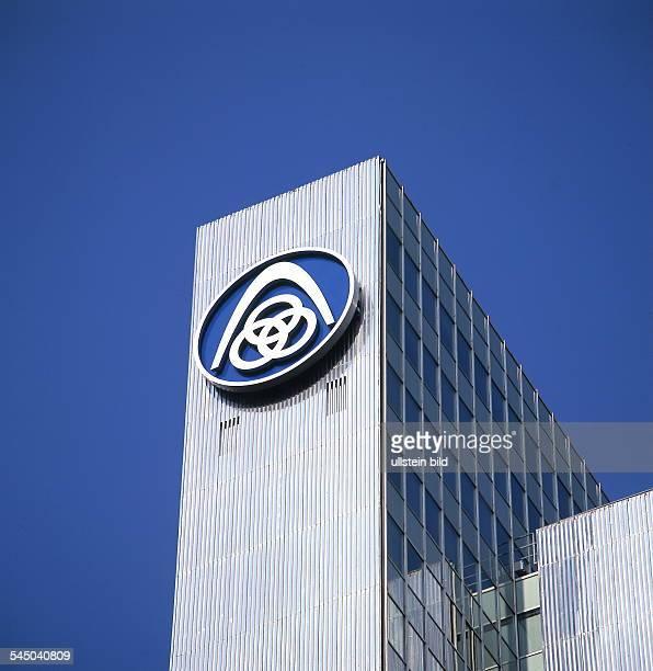 Konzernzentrale der Thyssen Krupp AGUBz das Signet 1999