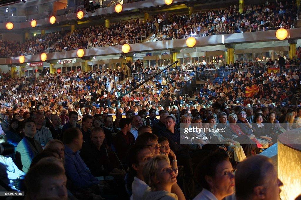Konzerthalle, 'Eurovision Song Contest 2002' - 'Grand Prix', Tal : News Photo