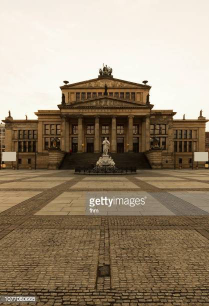 konzerthaus at the famous gendarmenmarkt (berlin, germany) - konzerthaus berlin stock pictures, royalty-free photos & images