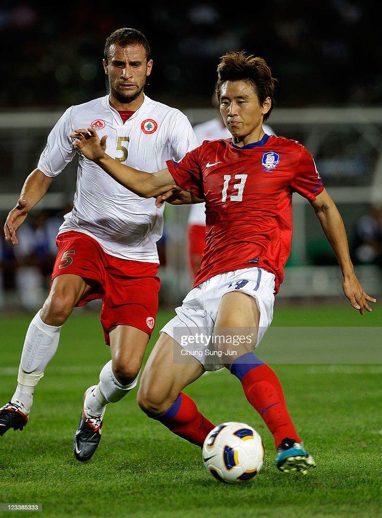 South Korea v Lebanon - 2014 FIFA World Cup Asian Qualifier : ニュース写真
