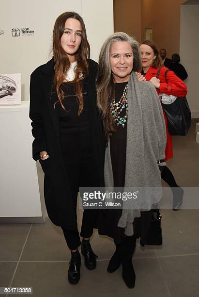 Koo Stark and Tatiana Walker attend Saatchi's first ever all female show to mark the Gallery's 30th Anniversary at The Saatchi Gallery on January 12...