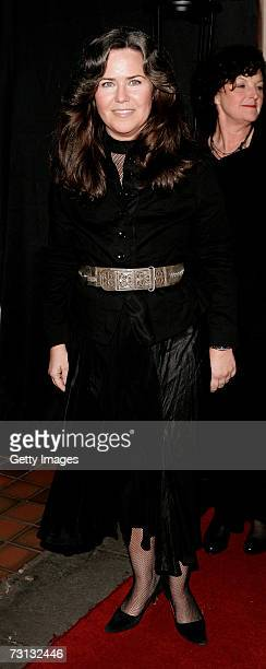 Koo Stark arrives at Andy Patti Wong's Chinese New Year Party at Madame Tussauds on January 27 2007 in London England This year's burlesquethemed...