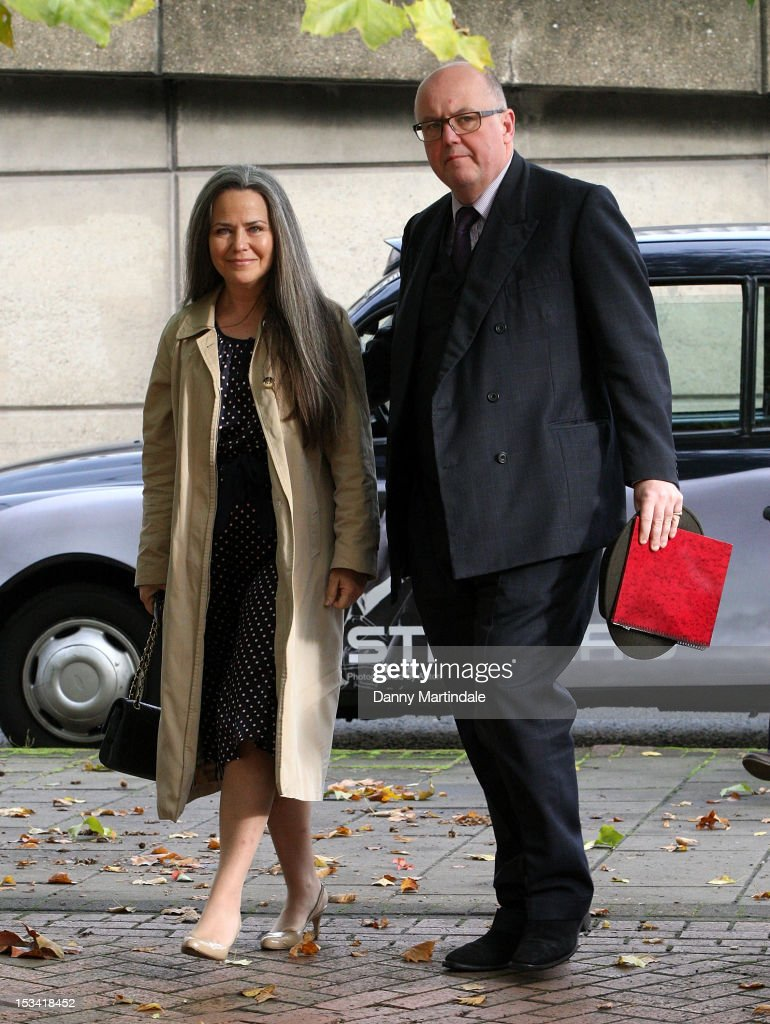 Koo Stark Arrives At Hammersmith Magistrates Court : News Photo