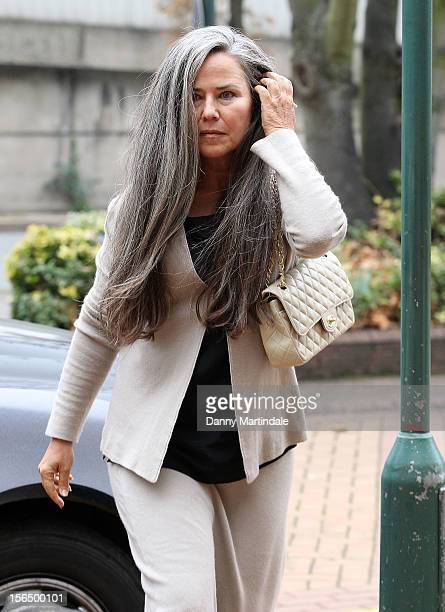 Koo Stark arrives at court to face allegations of theft at Hammersmith Magistrates Court on November 16 2012 in London England Stark who denies the...
