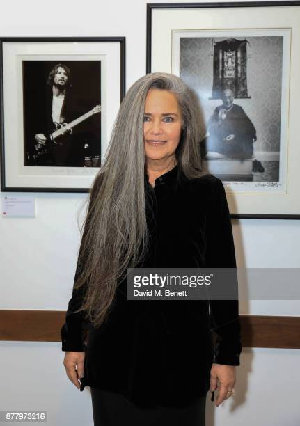 Koo Stark attends a private view of her exhibition 'Kintsugi Portraits' at Galleria San Lorenzo on November 23 2017 in London England