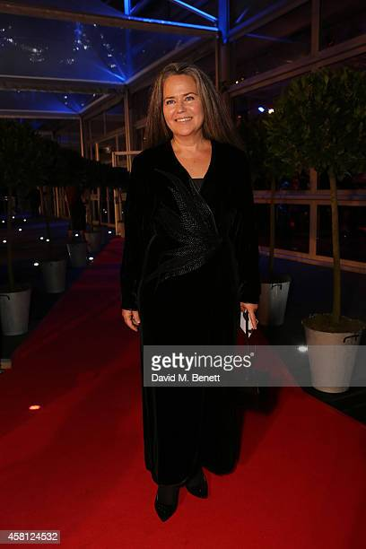 Koo Stark attends Battersea Dogs Cats Home's 'Collars Coats Gala Ball' at Battersea Evolution on October 30 2014 in London England