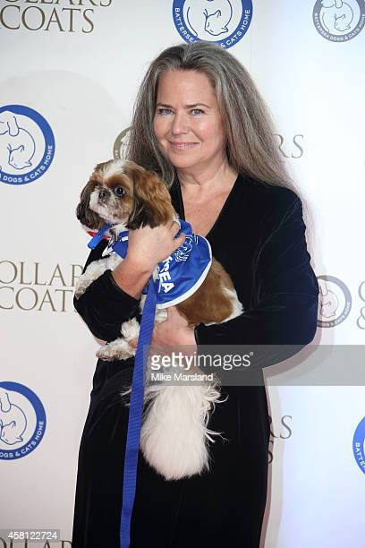 Koo Stark attends the annual Collars Coats Gala Ball in aid of The Battersea Dogs Cats home at Battersea Evolution on October 30 2014 in London...