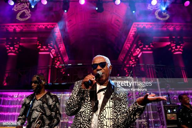 Kool and the Gang performs onstage at Gabrielle's Angel Foundation's Angel Ball 2017 at Cipriani Wall Street on October 23 2017 in New York City