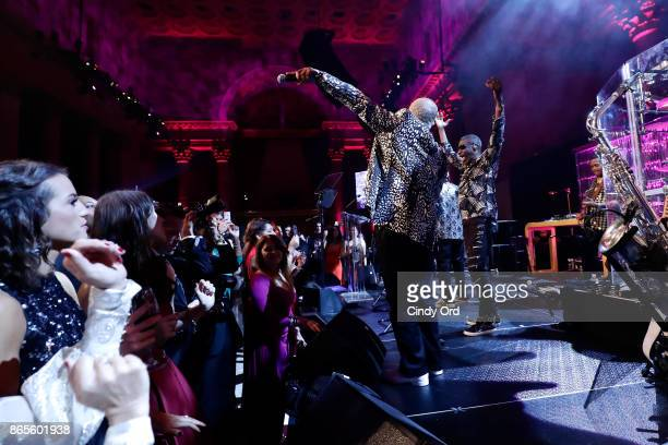 Kool and the Gang performs onstage Gabrielle's Angel Foundation's Angel Ball 2017 at Cipriani Wall Street on October 23 2017 in New York City
