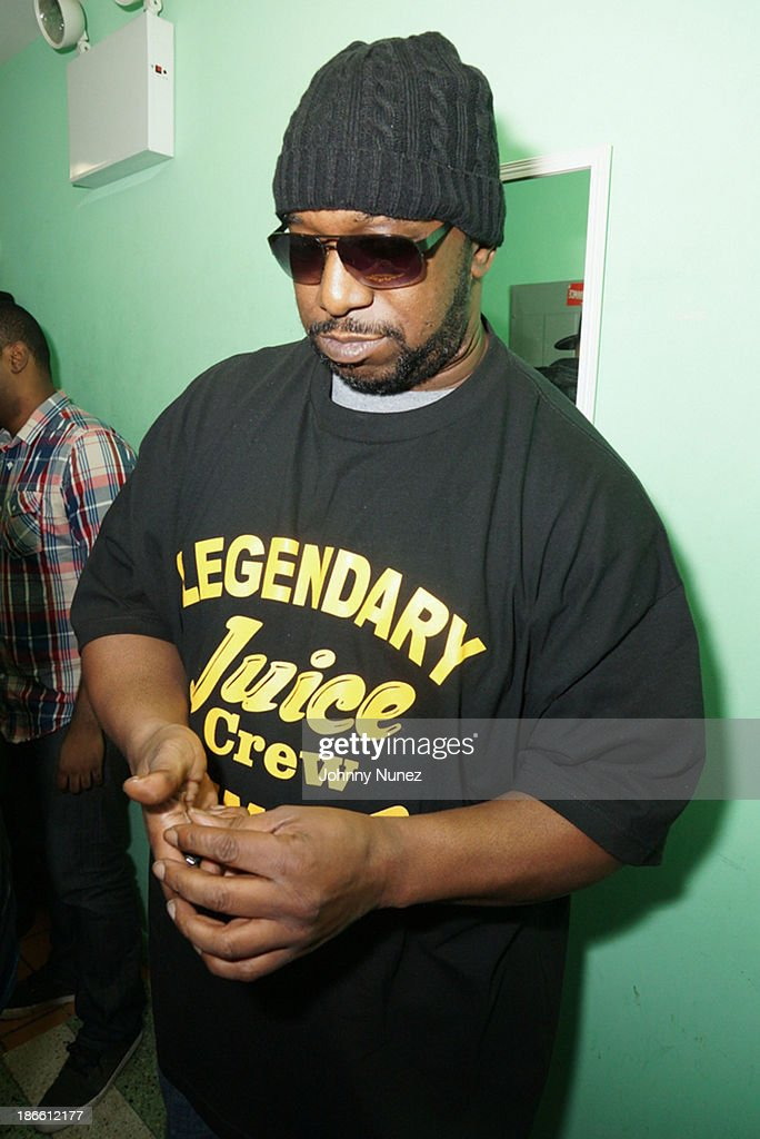 Kool G Rap attends Take It Personal Featuring Kool G Rap & Necro at UCB Theatre on November 1, 2013 in New York City.