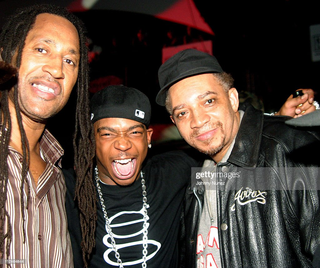 Kool Herc, Ja Rule and DJ Red Alert during Power 105.1 Presents Ja Rule Album Release Party at Exit in New York City, New York, United States.