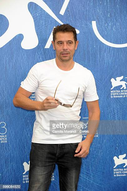Kool Shen attends a photocall for 'Reparer Les Vivants' during the 73rd Venice Film Festival at on September 4 2016 in Venice Italy