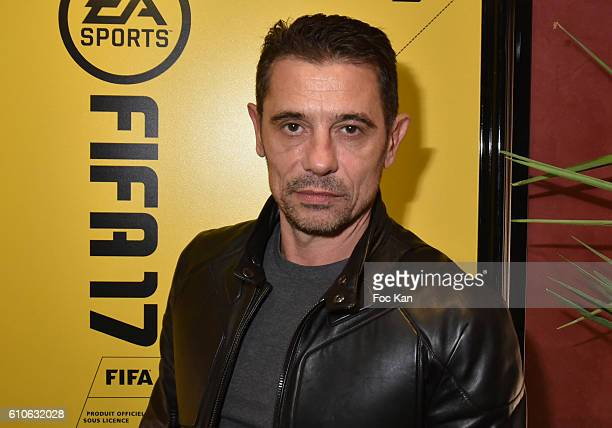 Kool Shen from former NTM band attends FIFA Xperience at Cercle Cadet on September 26 2016 in Paris France