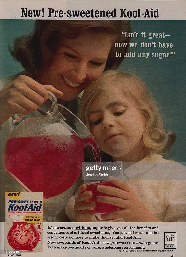 New! Pre-sweetened Kool-Aid : News Photo