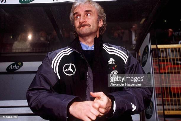 LAENDERSPIEL 2000 Kopenhagen DAENEMARK DEUTSCHLAND 21 TEAMCHEF Rudi VOELLER/GER