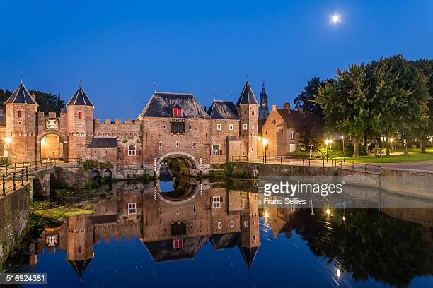 koppelpoort in amersfoort - amersfoort netherlands stock photos and pictures