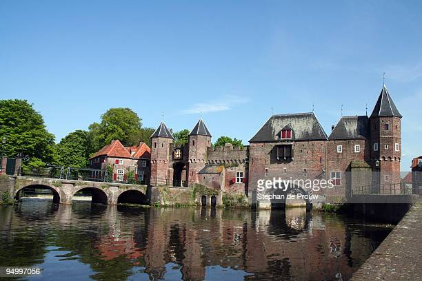 koppelpoort - amersfoort netherlands stock photos and pictures