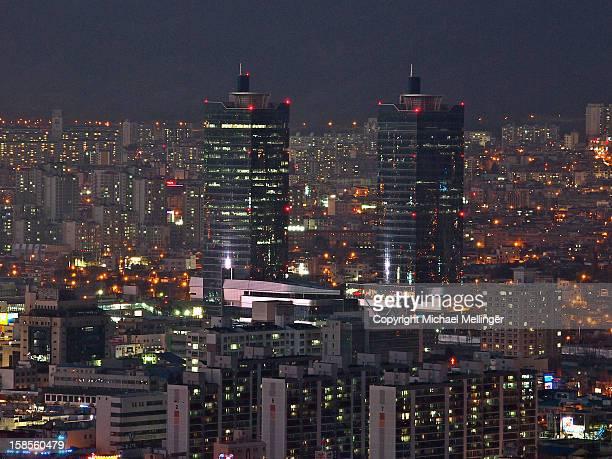 Korail towers-Daejeon-Bomunsan viewpoint-South Kor