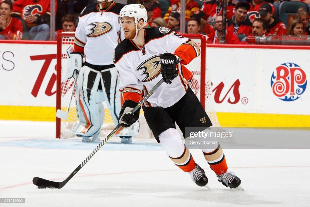 Anaheim Ducks v Calgary Flames - Game Three